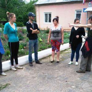 Сход граждан в посёлке Красный Партизан