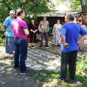 Сход граждан с жителями улицы Котовского