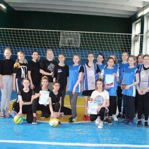 Городские соревнования по волейболу среди девушек