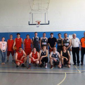Республиканская спартакиада по баскетболу