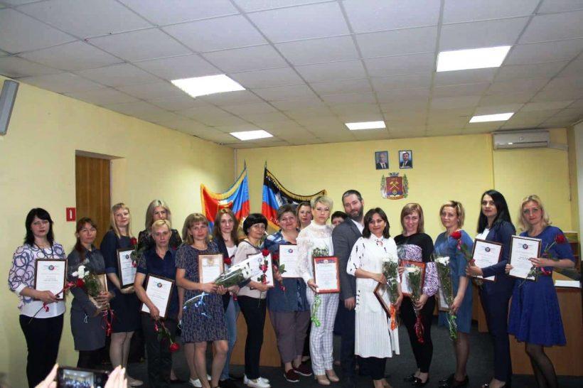 Празднование Дня социального работника