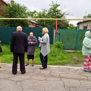 Проведена встреча с жителями улицы Фурманова