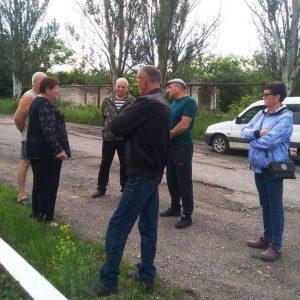 Встреча с жителями улиц Мира и Гагарина