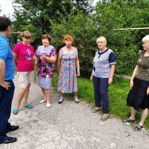 Встреча с жителями ул. Кубанская