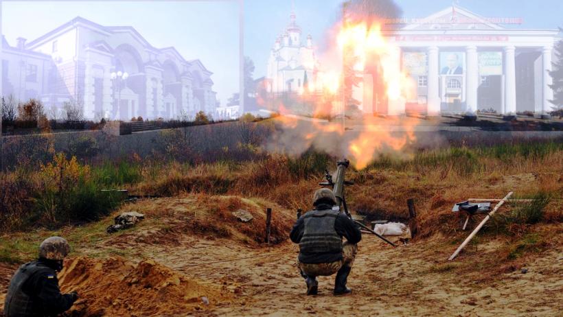 Обстрелы Ясиноватой
