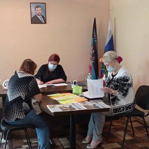 Галина Сагайдакова провела прием граждан в Ясиноватой