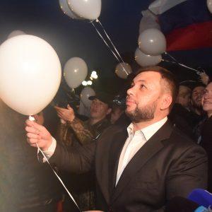 Денис Пушилин принял участие в акции «Ангелы» в память о погибших детях Донбасса