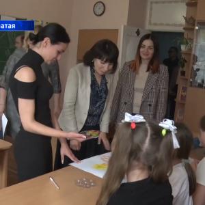 Ирина Пушилина передала помощь Ясиноватской школе-интернату