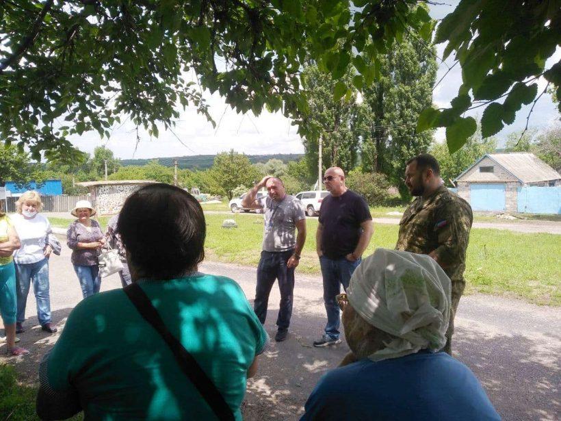 сход граждан в селе Васильевка
