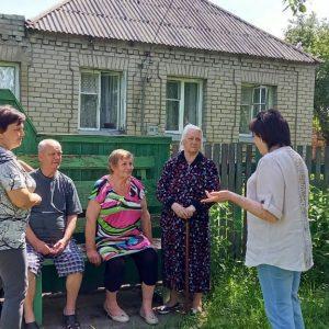 Сход граждан улицы Димитрова, дом 94