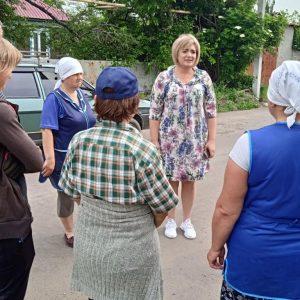 Встреча в Спартаке, ул. Октябрьская
