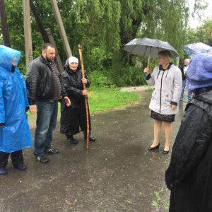 Сход граждан в селе Весёлое