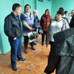 Встреча с жителями улицы Баевича
