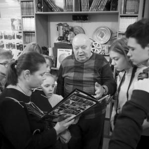 Директор Донецкого музея фотожурналистики и фототехники