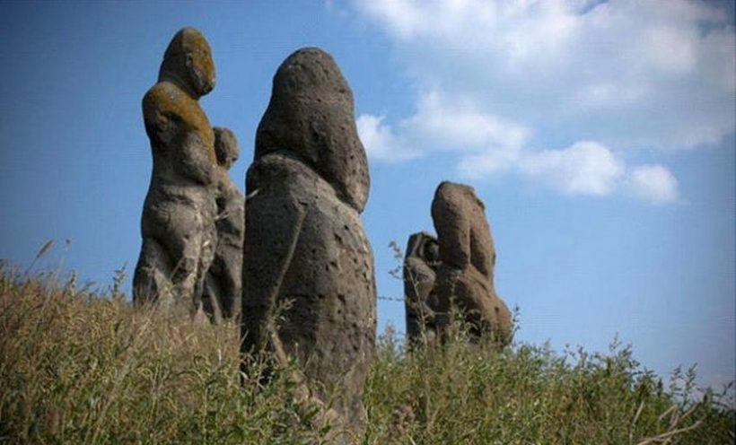 каменные бабы Донбасса