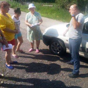 Сход граждан в с. Васильевка