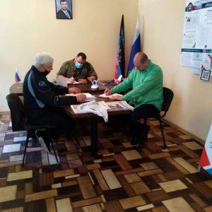 Депутат встретился с жителями Ясиноватой