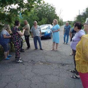 Сход жителей улицы Красноармейская