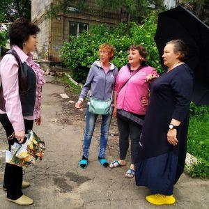 Сход граждан улицы Орджоникидзе, дом 127