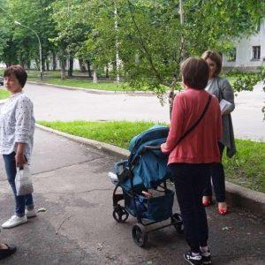 Сход граждан с жителями улицы Молодежная