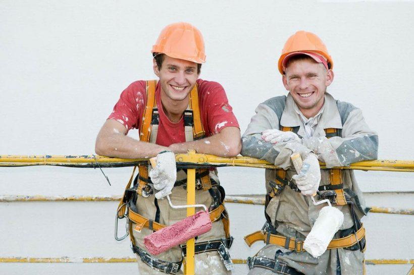 строители в Ясиноватой