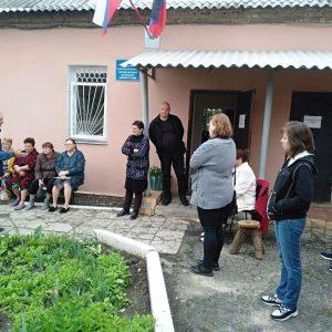 Сход граждан с жильцами многоквартирного жилого фонда поселка Красный Партизан