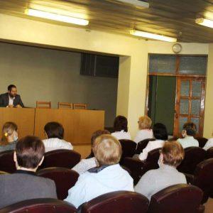 Встреча главы города Ясиноватая Д. Шевченко с коллективом ЯЦРБ