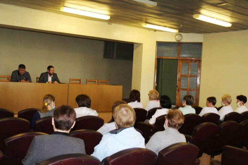 встреча с врачами в Ясиноватой