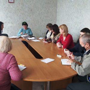 Заседание комиссии по предоставлению материальной помощи в денежном выражении отдельным категориям лиц