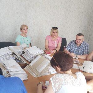Заседание комиссии по перемещенным лицам
