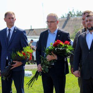Владимир Бидёвка принял участие в митинге-реквиеме памяти жертв крушения малазийского «Боинга»