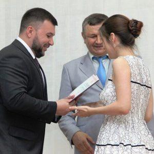 Впервые в истории ДНР состоялось вручение российских дипломов выпускникам СПО