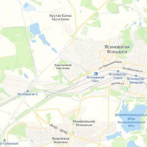Информация о земельных участках в Ясиноватой