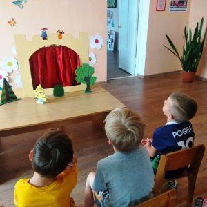 Кукольный пальчиковый театр
