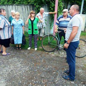 Встреча с жителями ул. Олимпийская