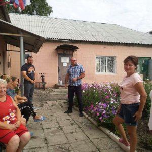 Cход граждан с жителями ул. Торецкая и Победы