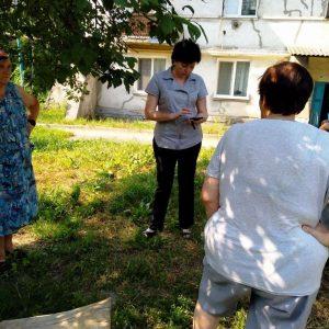 Сход граждан с жителями улицы Богдана Хмельницкого