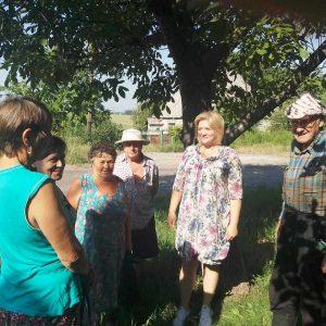 В п. Крутая Балка состоялся сход граждан