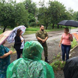 Встреча с жителеми поселка Крутая Балка