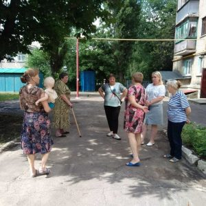 Сход жителей бульвара Ленина