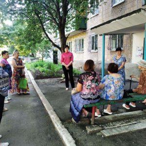 Сход граждан с жителями квартала 102, д. 13а