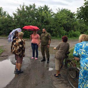 Сход граждан в селе Спартак