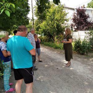 Сход граждан с жителями ул. Калинина