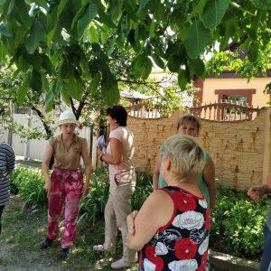 Сход граждан с жителями  улицы Мичурина