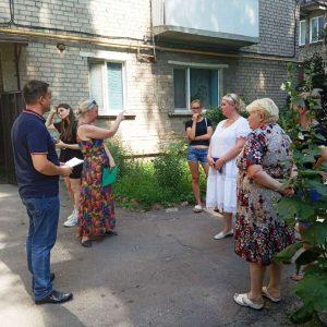 Cход граждан с жителями улицы Молодежная
