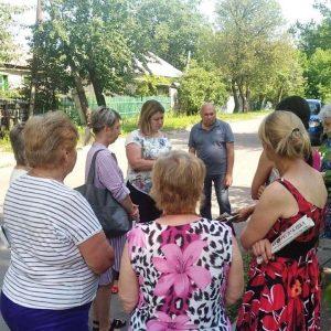 Сход жителей улицы Вокзальная