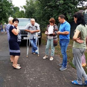 Сход граждан с жителями улицы Степана Разина