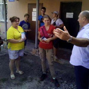 Cход граждан с жителями ул. Гагарина и Мира