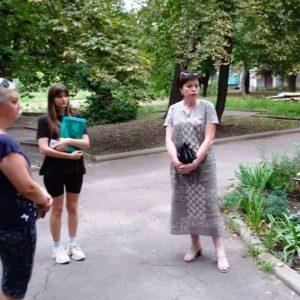 Сход граждан с жителями микрорайона Центральный