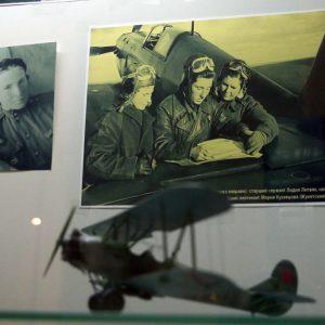 В Донецке открылась музейная экспозиция, посвященная легендарной советской летчице-асу